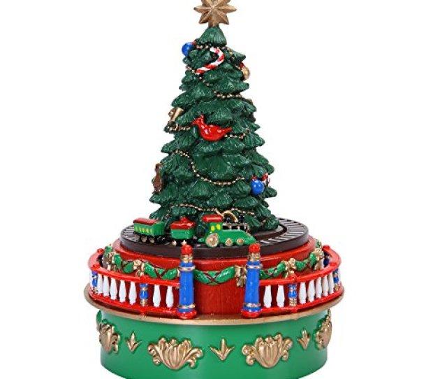 Mr Christmas  Mini Tree Carnival Music Box