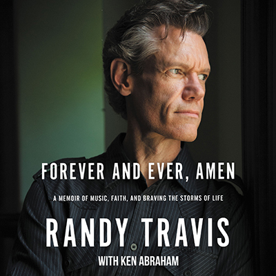 Audiobook cover for Randy Travis' new book