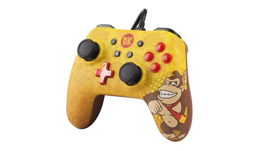 PowerA Nintendo Switch character controllers - Yellow Donkey Kong
