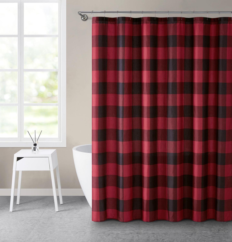Canadiana Buffalo Plaid 70x72 Shower Curtain