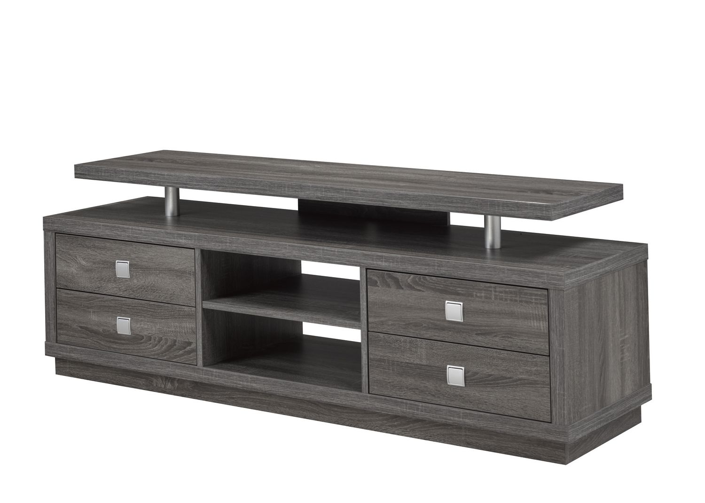 table tv brassex 66 po gris
