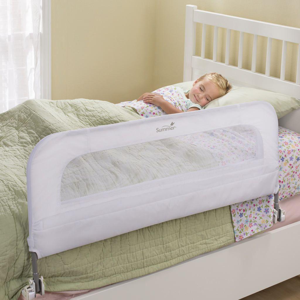 barriere de securite de lit summer infant blanche