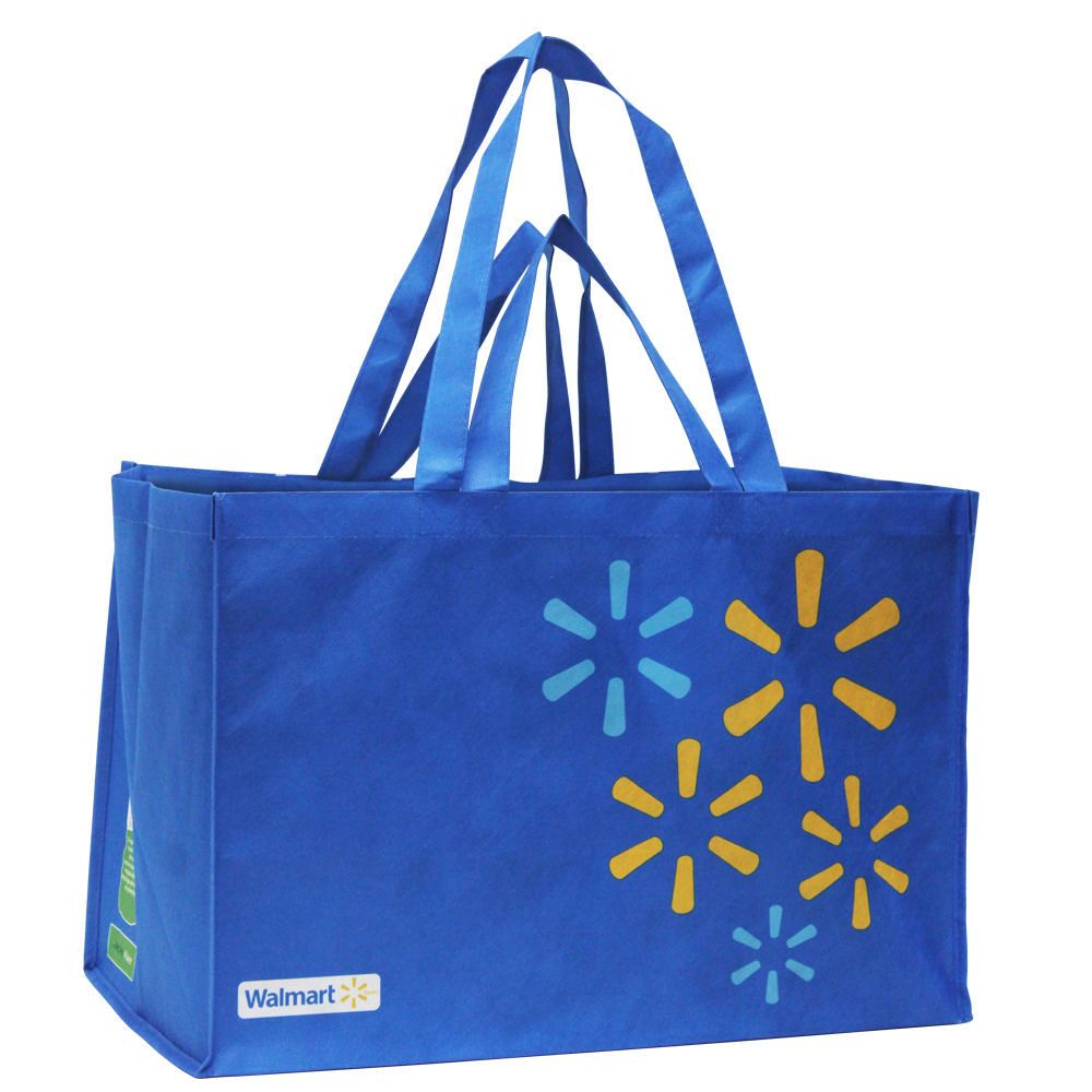 Walmart Large Format Reusable Shopping Bag Walmart Canada