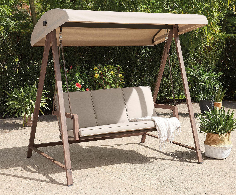 hometrends willow springs patio swing