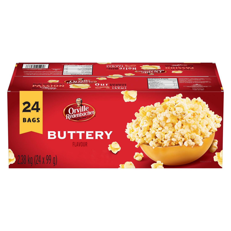 orville redenbacher s gourmet microwave popcorn buttery flavour