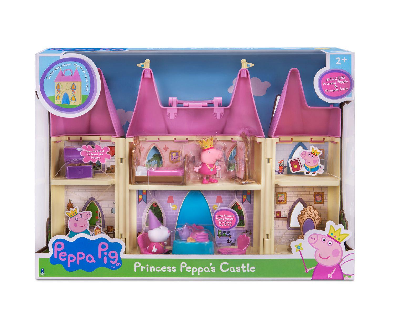 ens de jeu chateau de princesse peppa de peppa pig