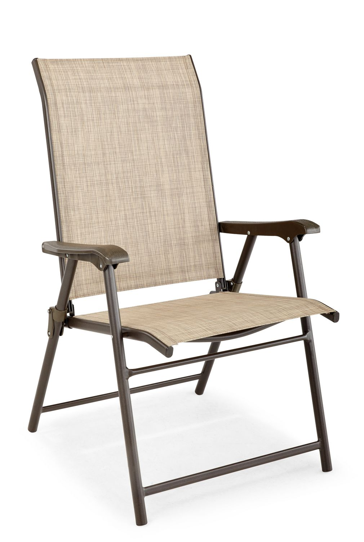chaise pliante en toile de hometrends