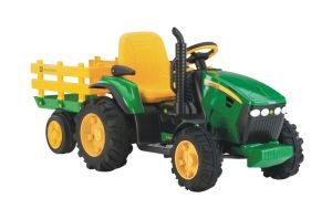 Peg Perego John Deere Ground Force Rideon Tractor with