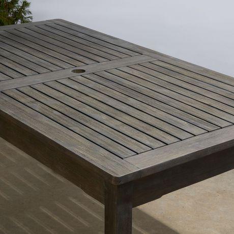 table a manger rectangulaire en bois pour patio exterieur renaissance