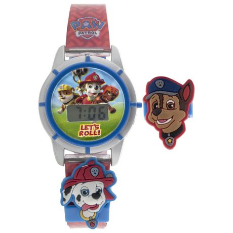PAW Patrol Kids LCD Digital Watch Walmart Canada