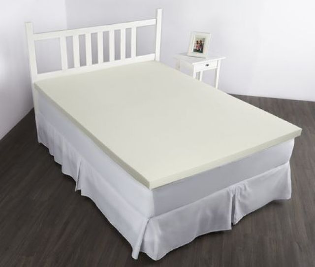 Orthowave Ultra Twin 2 0 Memory Foam Mattress Topper Image 1