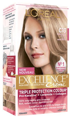 LOral Paris Excellence Crme C13 Triple Protection Hair
