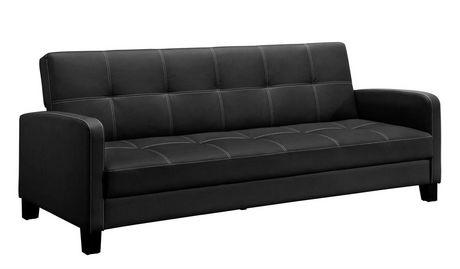 dhp canape lit delaney noir