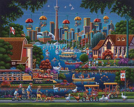 Toronto Island 1000 Piece Walmart Canada