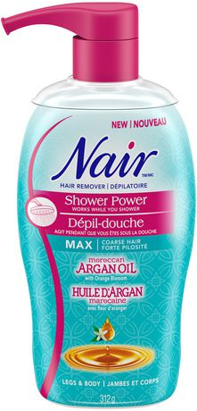 Nair Shower Power Moroccan Argan Oil Hair Remover