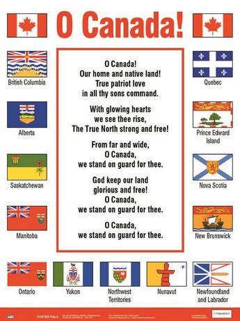 Affiche O Canada Walmartca