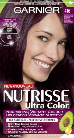 Garnier Nutrisse Ultra Color Haircolour 416 Intense Violet