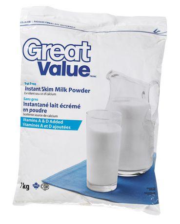Great Value Instant Skim Milk Powder Walmart Ca
