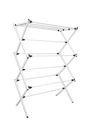 mainstays folding dry rack