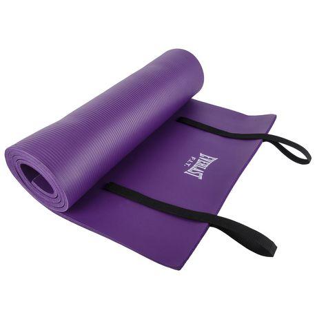 tapis d exercice en mousse d everlast violet