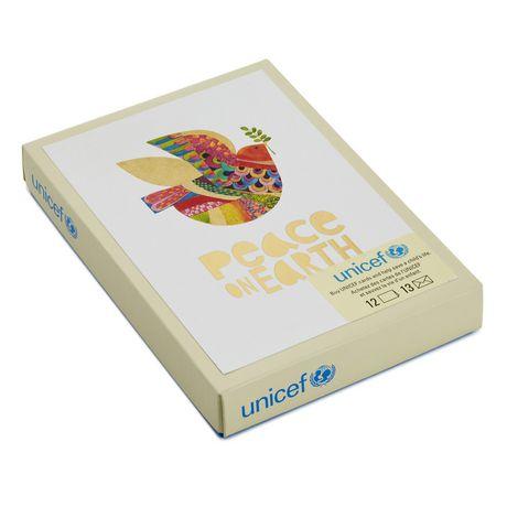 Hallmark UNICEF Dove Of Peace French Language Boxed