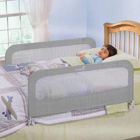 barriere de lit a double securite de summer infant