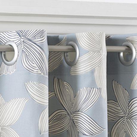 dritz curtain grommets silver