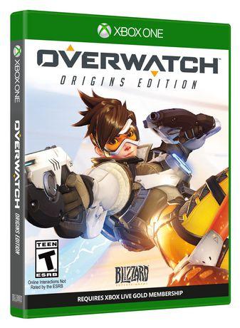 Jeu Vido Overwatch Dition Origins Xbox One Walmart Canada