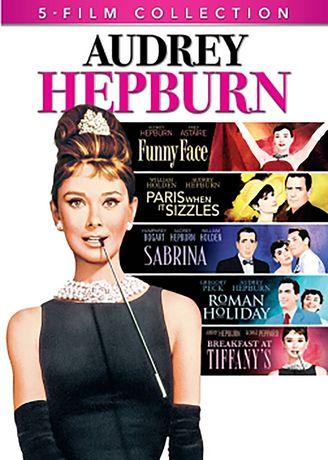 Audrey Hepburn 5 Film Collection Breakfast At Tiffanys