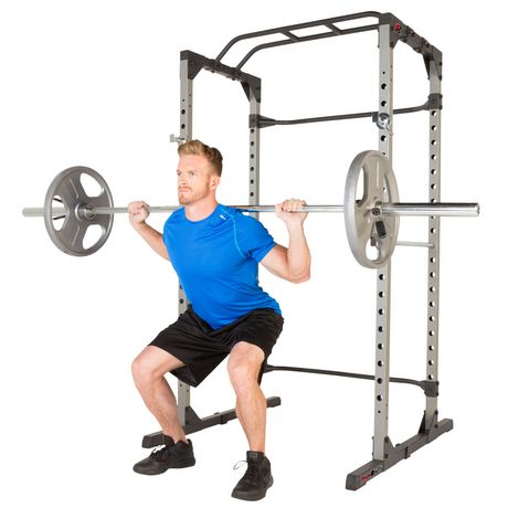 Fitness Reality 810xlt Super Max Power Rack Cage Walmart