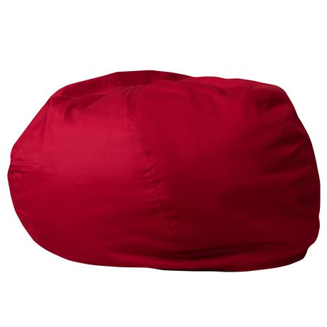 Oversized Solid Red Bean Bag Chair Walmart Canada