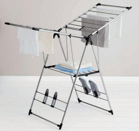 mainstays stainless steel dryer rack