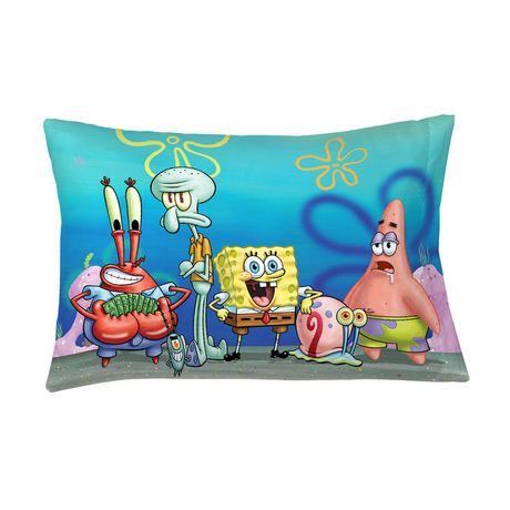 spongebob bubbles bubbles pillowcase