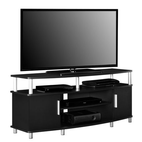 Carson TV Stand For TVs Up To 50 Weathered Oak Walmart