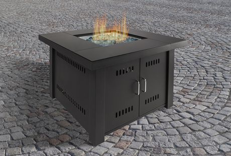 Pleasant Hearth Ofg444t Sheridan Gas Fire Pit Table