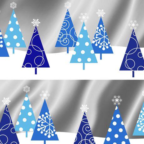 Hallmark Image Arts 30 Foil Trees Christmas Wrapping