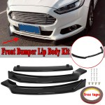 Car Tuning Styling For 2013 2016 Ford Fusion Mondeo Front Bumper Lip Body Kit Spoiler Gloss Black Vehicle Parts Accessories Visitestartit Com