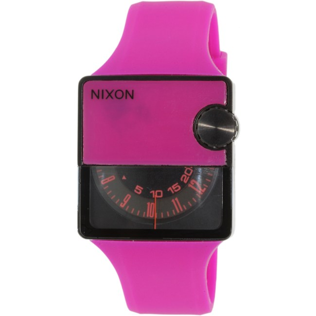 Nixon Women's Murf A237644 Pink Silicone Analog Quartz Fashion Watch