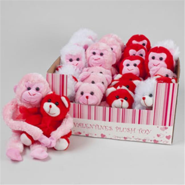DDI 1938520 Valentines Day Plush Toys Gorilla Amp Bear