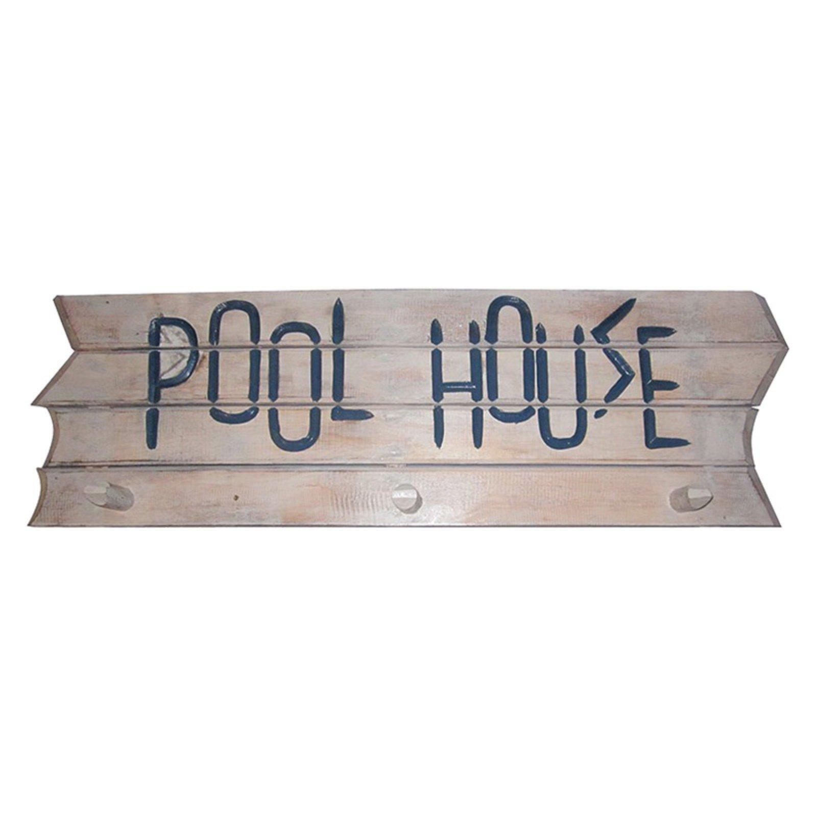 ram game room pool house towel rack