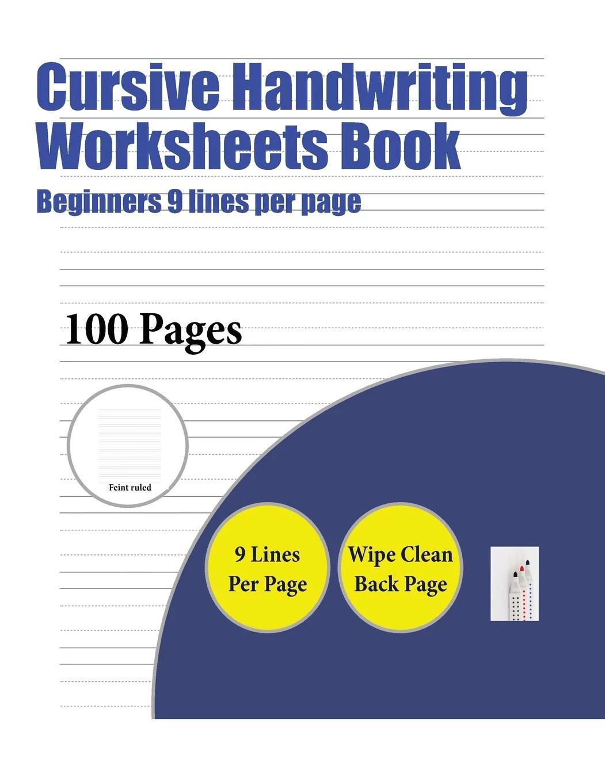 Cursive Handwriting Worksheets Book Cursive Handwriting
