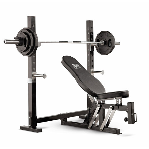 Marcy Pro Olympic Weight Bench Walmart Com