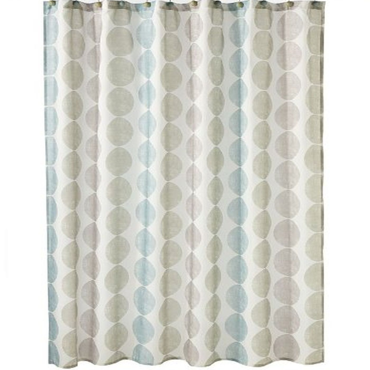 saturday knight zen geometric circles fabric shower curtain walmart com