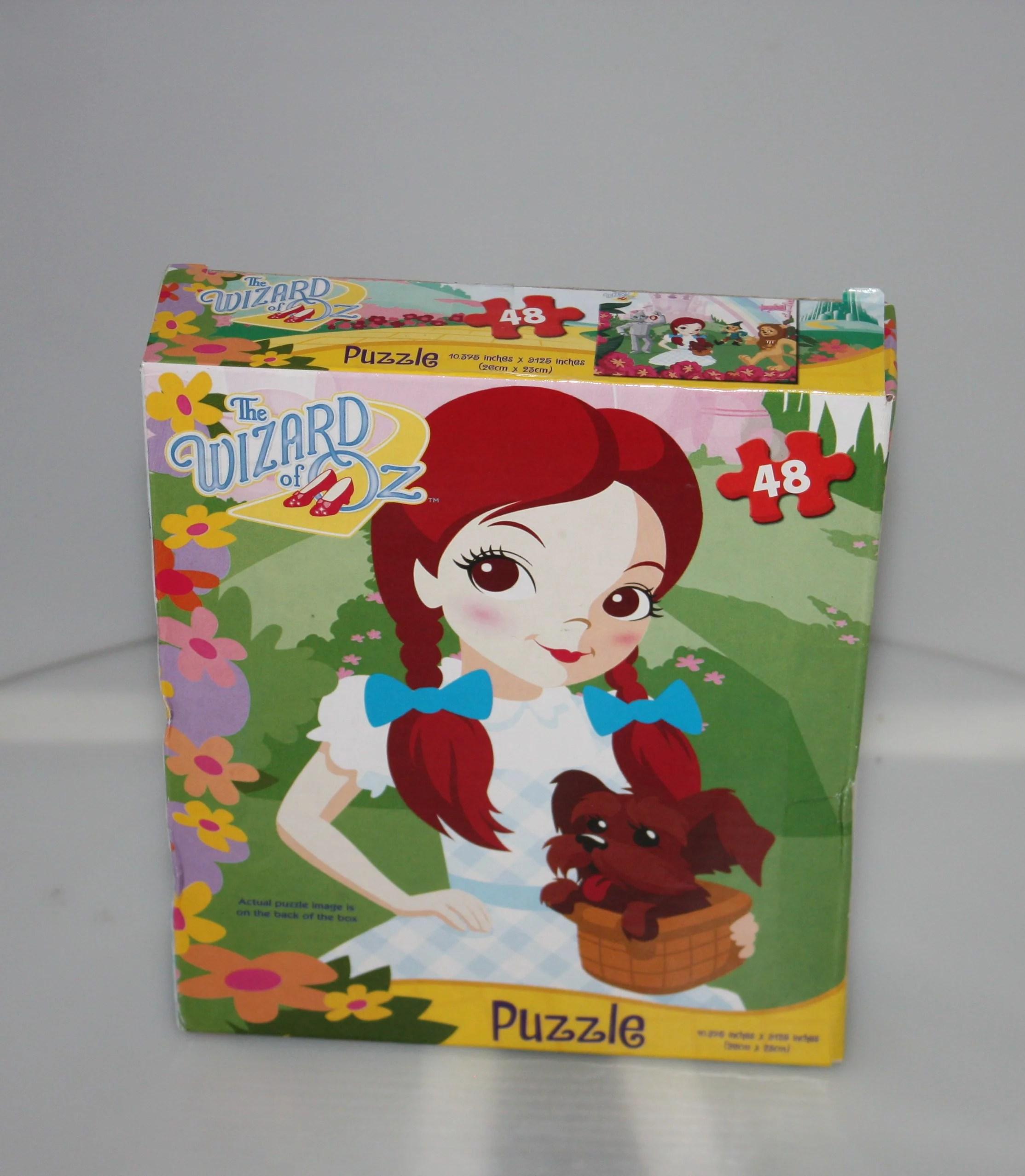 Wizard Of Oz Puzzle 48 Pieces