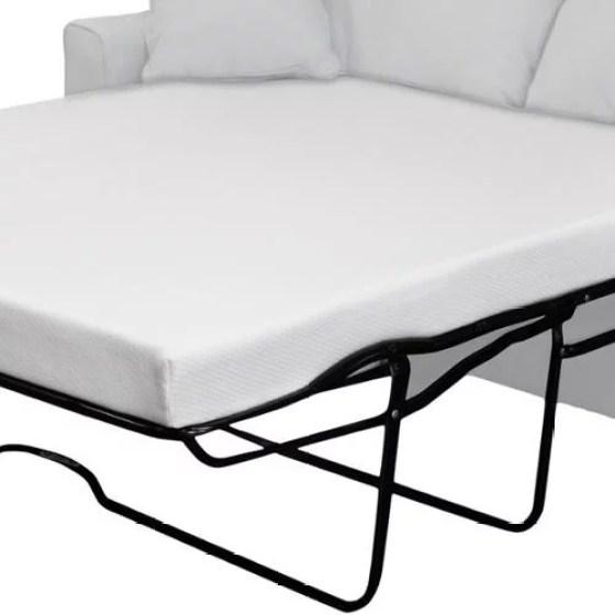 Select Luxury New Life 4 5 Inch Twin Size Memory Foam Sofa Bed Sleeper Mattress