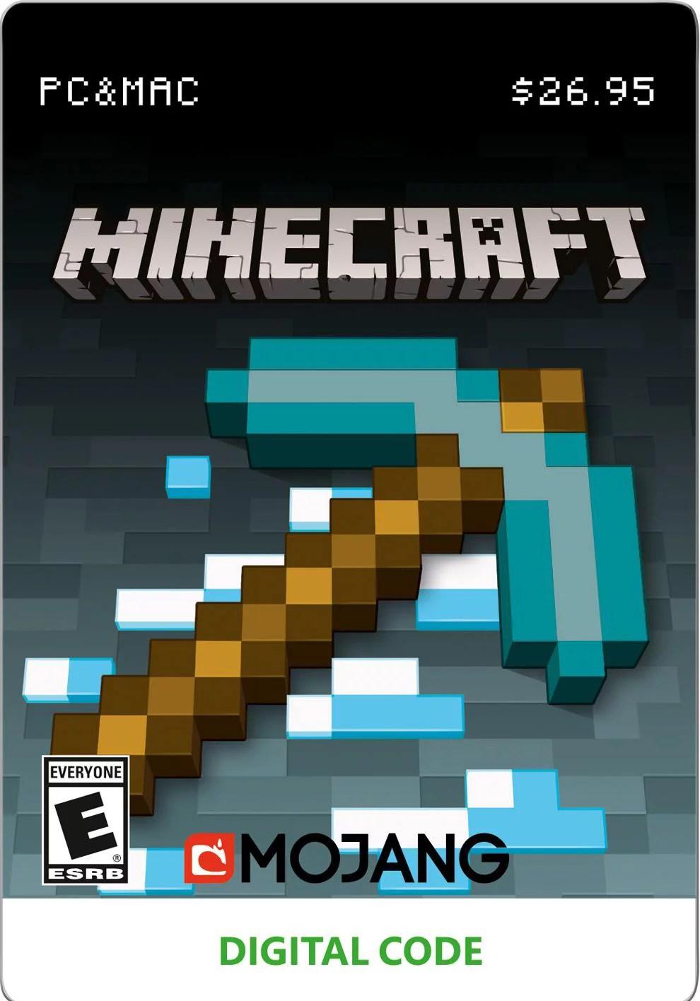 minecraft microsoft pc digital download 799366446057 walmart com
