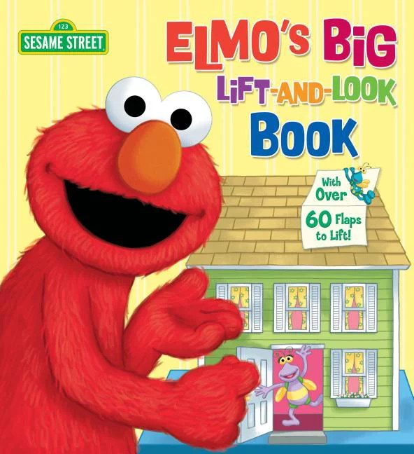 Elmos Big Lift and Look Book Featuring j (Board Book)