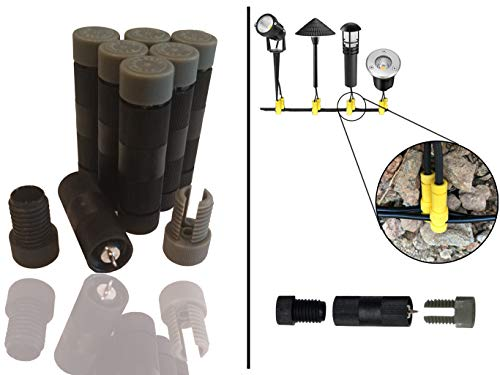 modtek low voltage high performance piercing connectors for landscape lights cable connector for14 16 gauge wire