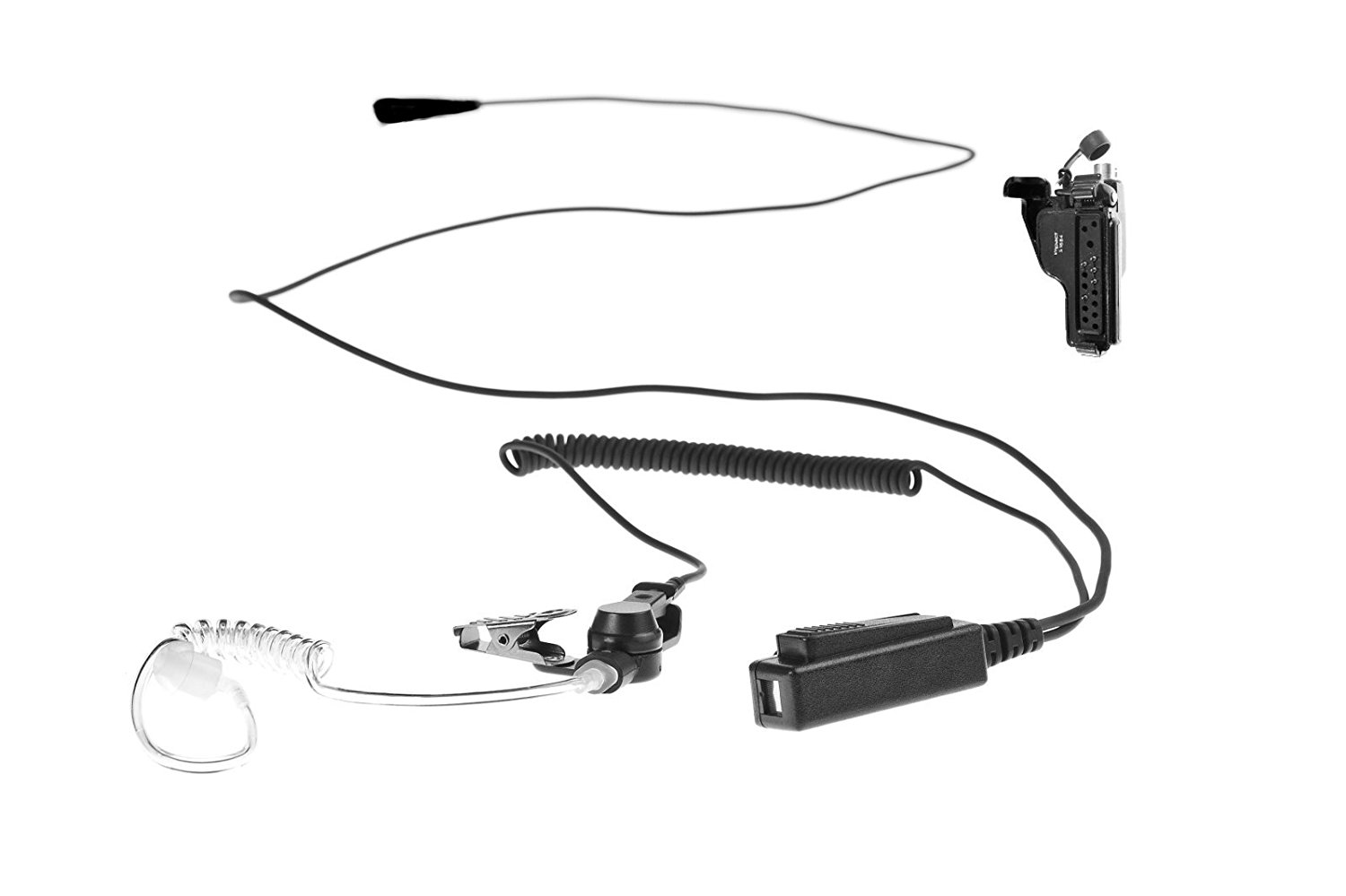 Impact Quick Release 1 Wire Lapel Mic Earpiece For