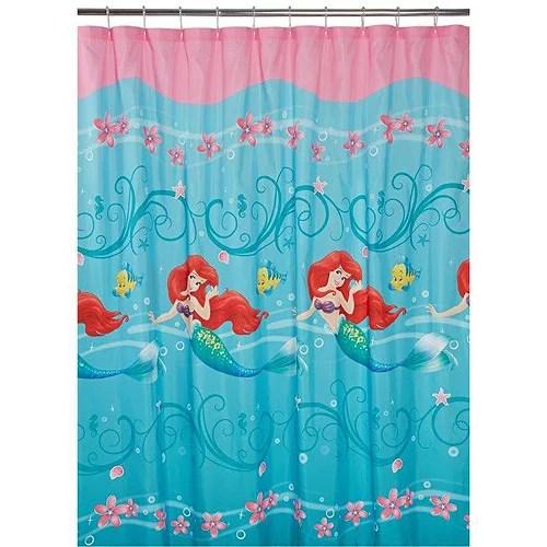 disney little mermaid ariel fabric shower curtain 1 each
